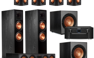 Klipsch 7.2.2 Reference Premiere Home Theater System with Marantz SR7015 9.2-Channel 4K Ultra HD AV Receiver